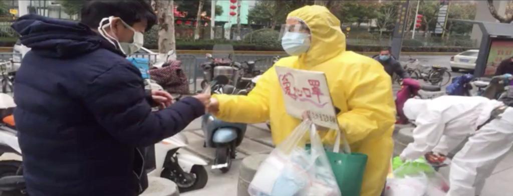 【新型コロナウイルス】危険をおかしてマスクを無料配布する武漢のクリスチャン【イエス・キリストと伝染病患者の話】